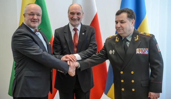 Польско-литовско-украинский отряд будет готов к следующему году