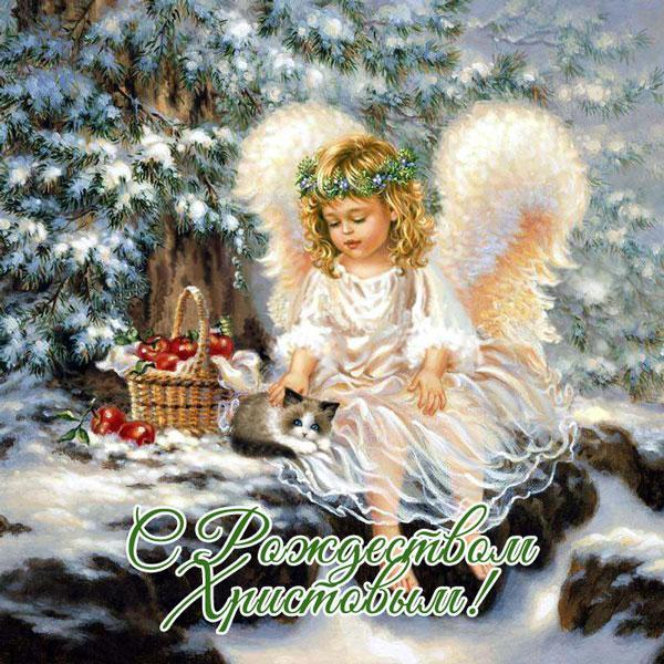 Лучшие поздравления с Рождеством в стихах, СМС и открытках (5)