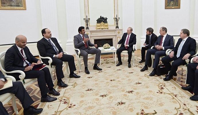 В Кремле начались переговоры РФ и Катара по Сирии
