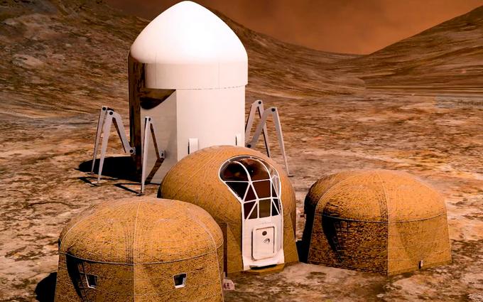 3D-дома для астронавтов: в NASA показали, какое жилье построят на Марсе (1)