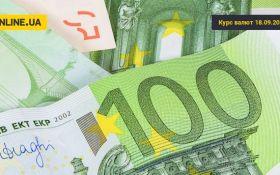 Курс валют на сьогодні 18 вересня: долар дешевшає, евро подешевшав