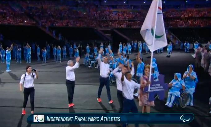 Церемония открытия Паралимпиады-2016: фото и видео из Рио (62)