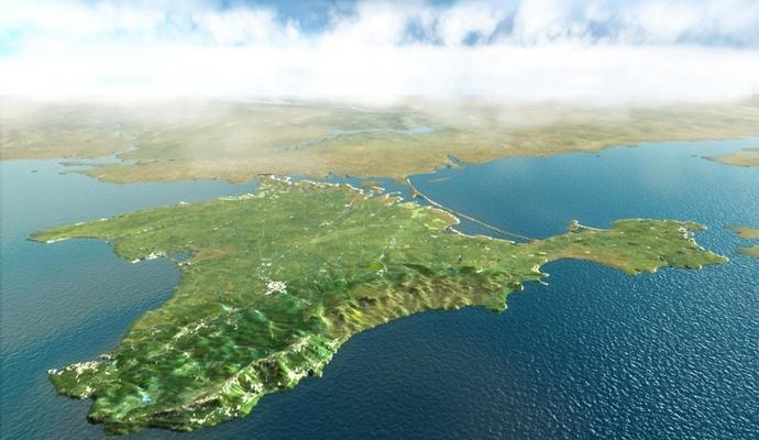 Украина прекращает товарооборот с Крымом