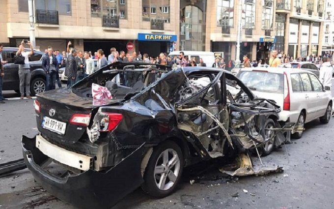 Взрыв авто на Бессарабке: врачи рассказали о состоянии пострадавшей модели