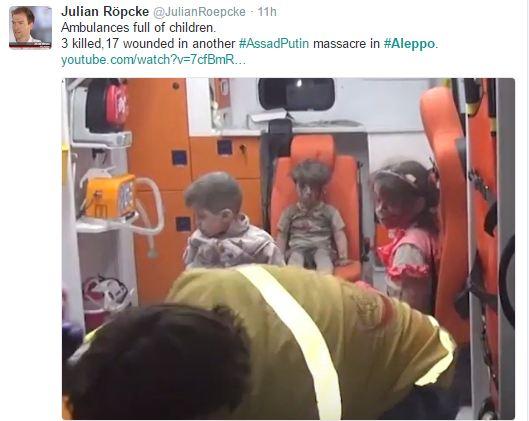 Мережу підірвало відео з сирійською дитиною, яка вижила після авіаудару Росії (3)