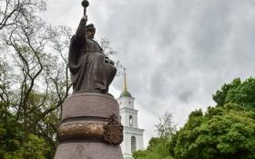 У Полтаві поглумилися над новим пам'ятником Мазепі: опубліковані фото