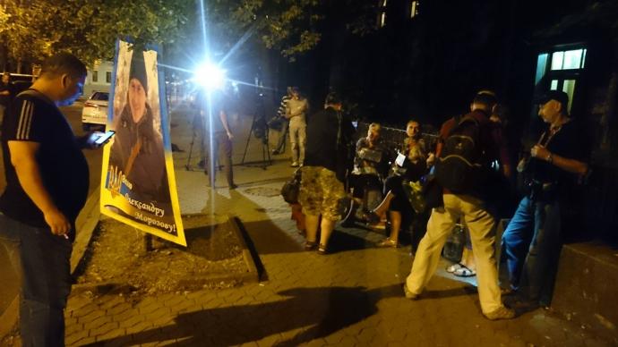 У мережі посміялися над ночівлею Савченко під АП: з'явилися фото (3)