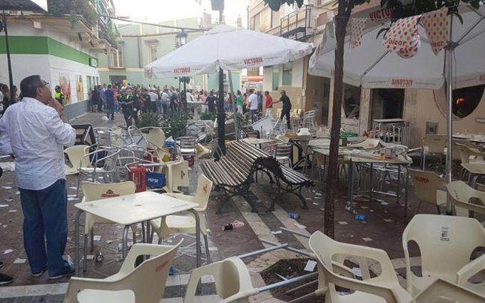У Іспанії прогримів вибух в кафе: 90 людей поранені, з'явилися фото і відео