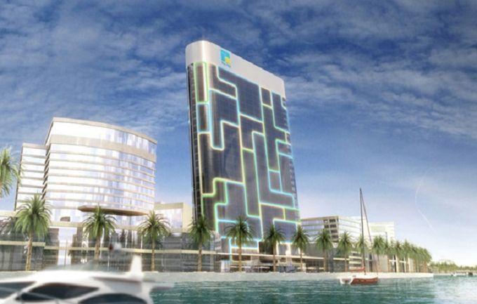 Дубай будет удивлять туристов iPod-небоскребом: опубликованы фото