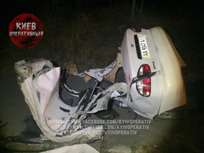 Смертельна аварія в Києві: з'явилися нові фото (1)