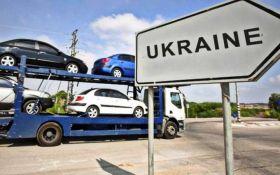 Рада упростила ввоз импортных авто