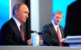 У Путіна прокоментували протести в Києві