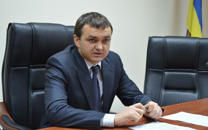 Глава однієї з українських областей подав у відставку