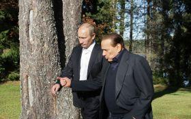 Двоє друзів - ізгоїв: в мережі бурхливо обговорюють візит Берлусконі на день народження Путіна