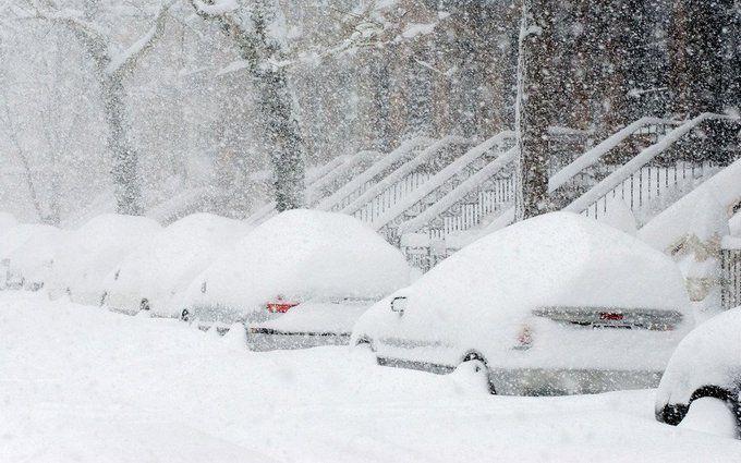 Апрельский ледниковый период: США засыпало снегом и ледяным дождем