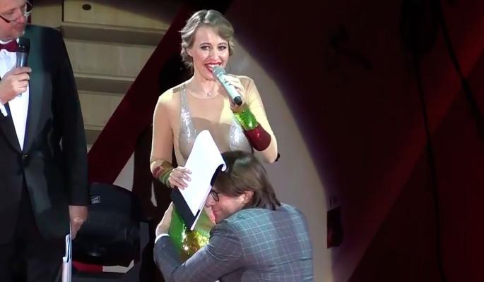 Друг Собчак незвично підтвердив її вагітність: опубліковані фото і відео (2)