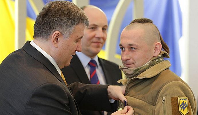 МВД наградило участников боевых действий на Востоке страны