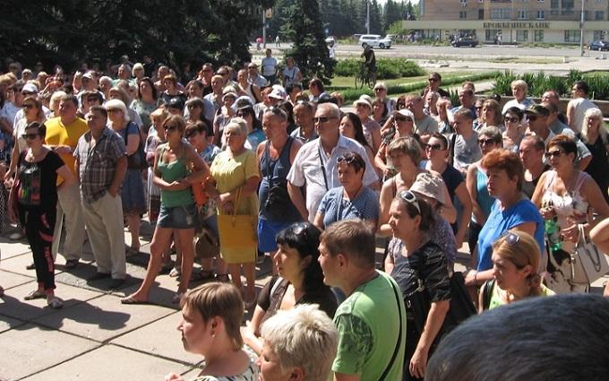 Хочемо як в Україні: відео бунту проти бойовиків ДНР підірвало соцмережі