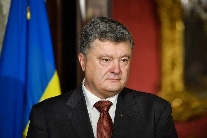 Порошенко: РФ продолжает калечить жизни людей вКрыму инаДонбассе