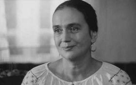 Умерла народная артистка Украины Ирина Бунина