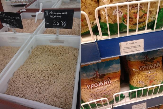 Скільки коштують продукти в окупованому Донецьку: з'явилися фото (6)