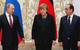 """Путін розповів Меркель і Олланд про """"імпульс"""" по Донбасу"""