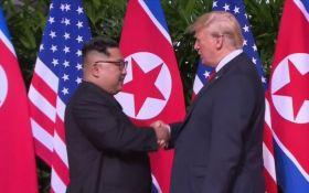 Історична зустріч Трампа і Кім Чен Ина: перші подробиці, фото і відео