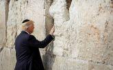Трамп помолился у Стены Плача в Иерусалиме: появилось видео