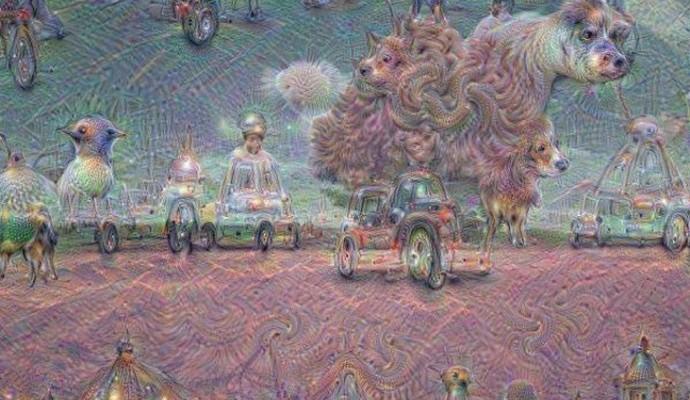Google научил искусственный интеллект рисовать: опубликованы фото