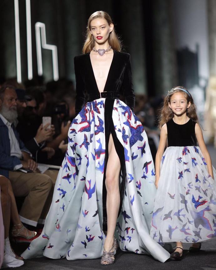 Тиждень високої моди в Парижі: з'явилися фото найяскравіших образів Elie Saab (1)