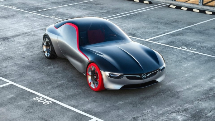 Opel показал прототип маленького заднеприводного купе (7 фото) (6)