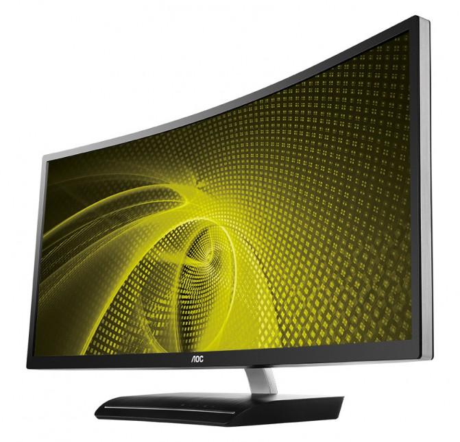 Компания AOC представила C3583FQ - изогнутый монитор для геймеров (1)