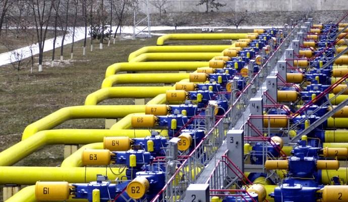 Статистика потребления газа в Украине за 2015 год