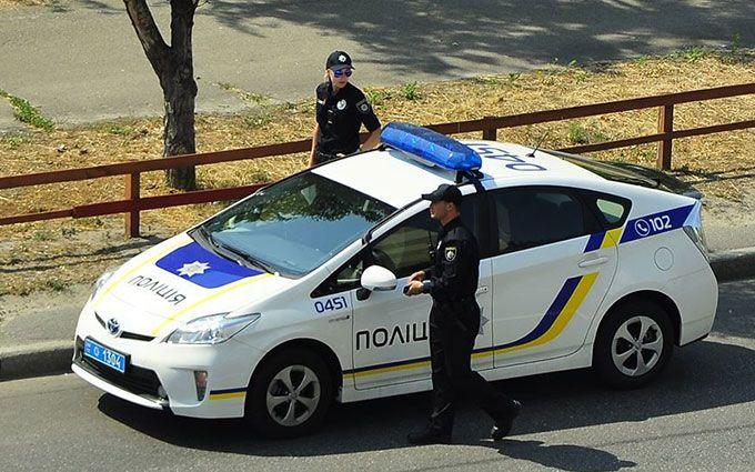 У Києві сталася ДТП зі вразливою дівчиною і копами: з'явилося фото