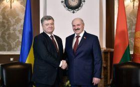 Стало известно, о чем договорились Порошенко и Лукашенко в Беларуси