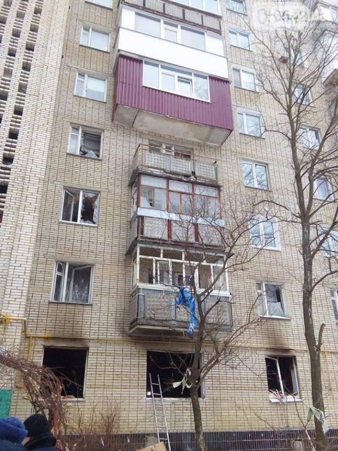 Взрыв квартиры в Сумах: появились фото и видео (17)