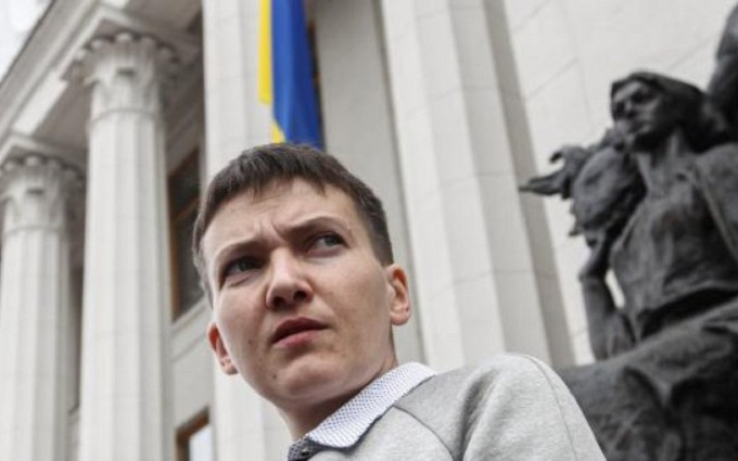 Савченко розповіла, як голосує, якщо не читала закон: опубліковано відео