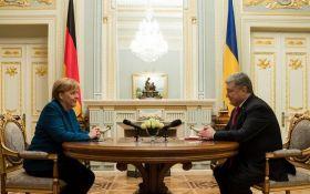 Порошенко встретился с Меркель: что обсуждали