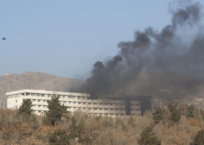 Атака на отель в Кабуле, много погибших: появились подробности и фото (1)