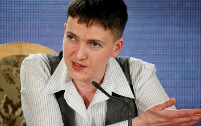 Савченко зробила нові заяви щодо Донбасу: опубліковано відео