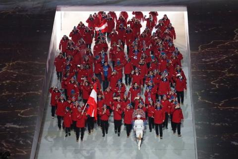 Церемония открытия Олимпиады-2014 (15 фото) (4)