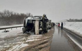 В России перевернулся автобус с украинцами - детали масштабного ДТП