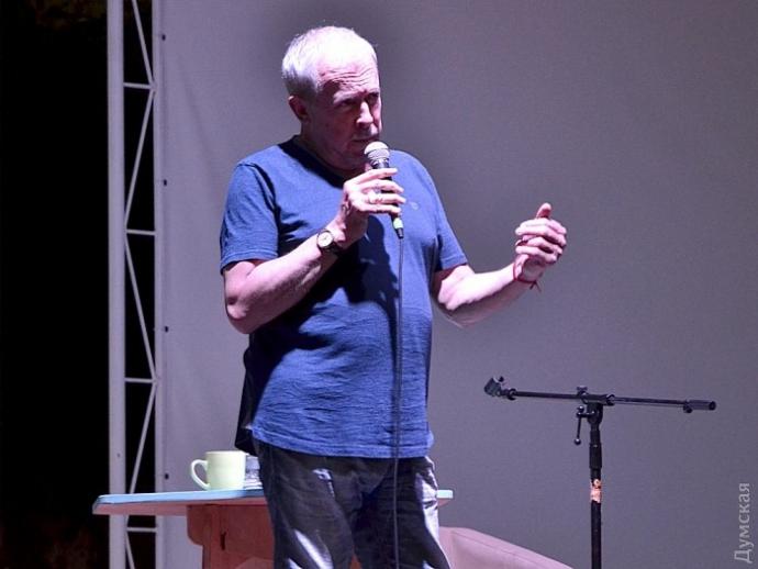 Лекція Макаревича в Одесі переросла в сутичку: з'явилися фото та відео (1)