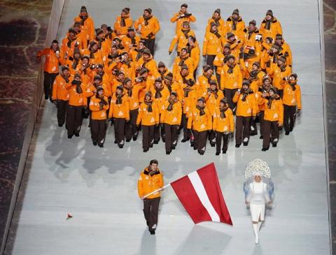 Церемония открытия Олимпиады-2014 (15 фото) (6)