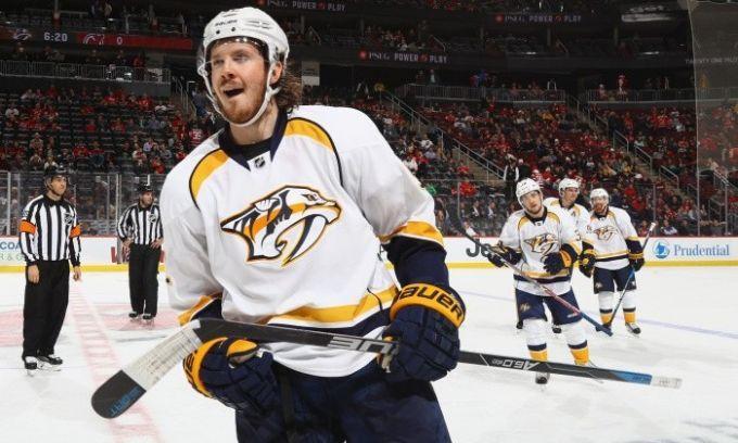 Джохансен подписал восьмилетний договор склубом НХЛ «Нэшвилл» на $64 млн