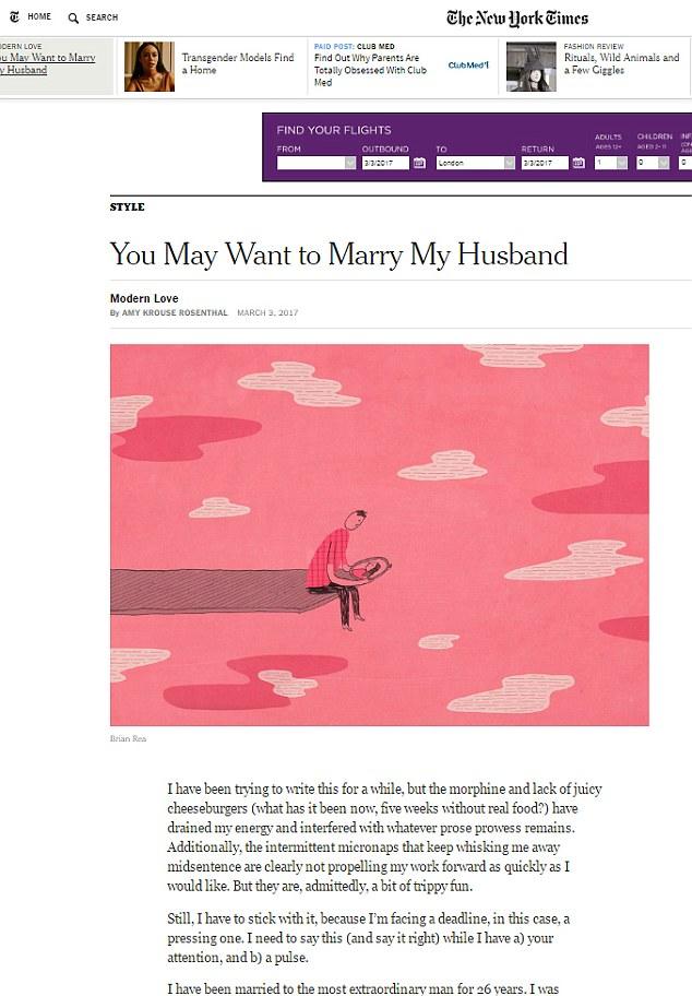Умирающая детская писательница ищет жену своему мужу: опубликованы фото (2)