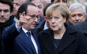 Трамп бросает вызов: Меркель и Олланд сделали общее заявление