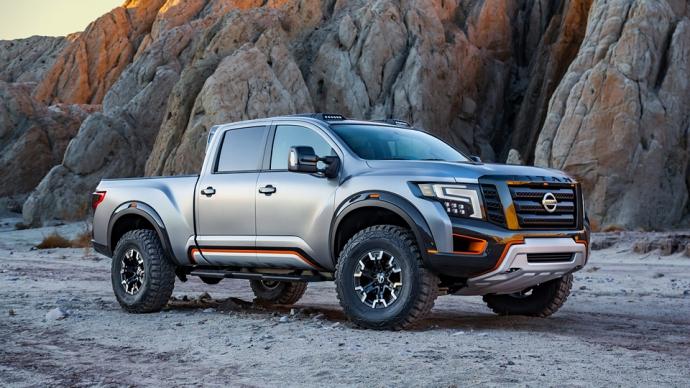 Nissan представив войовничий концепт Titan Warrior (4 фото)