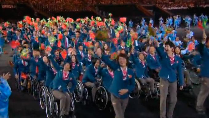 Церемония открытия Паралимпиады-2016: фото и видео из Рио (56)