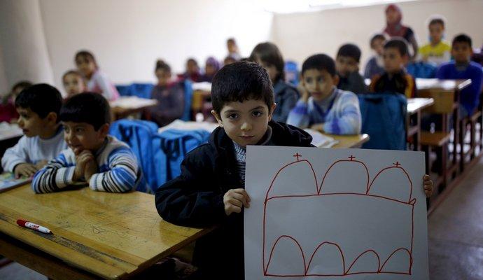 В Турции из-за взрыва пострадали дети